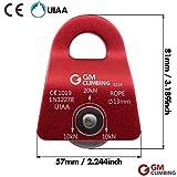 GM CLIMBING 20kN UIAA Certified Black Micro Prusik