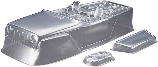 Clear Axial AXIC4038 AX04038 Jeep Wrangler Race Body.40