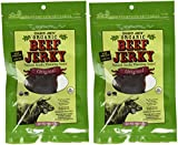 2 Packs Trader Joe's ORGANIC Beef Jerky 3 Oz with Natural Smoke Flavoring Added Original Flavor