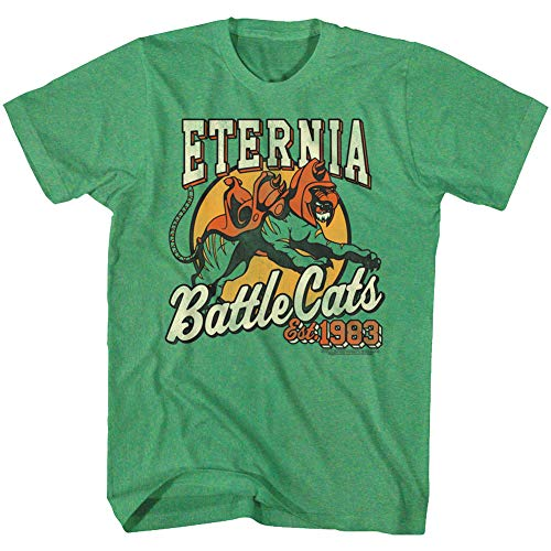 Masters of The Universe TV Series Eternia Battle Cats Est 1983 Adult T-Shirt -