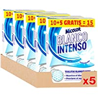 Micolor Toallitas Blanco Intenso 10+5D – Pack