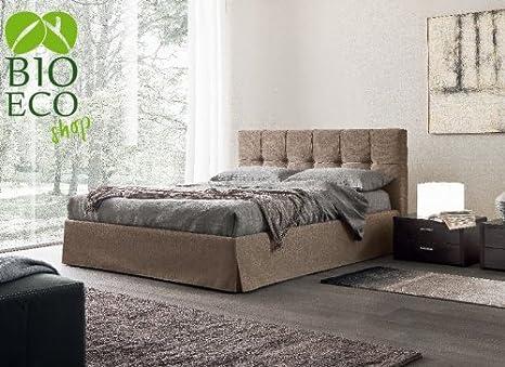 bioecoshop cama acolchado bioeco EG mal con cabecero cama ...