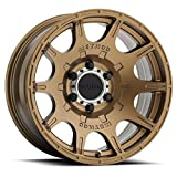 """Method Race Wheels Roost Bronze Wheel with Machined Center Ring (20x9""""/5x150mm) 18 mm offset"""