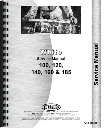 White 160 Tractor Service Manual by Jensales