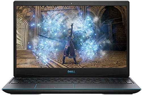 "2020 Dell G3 15.6"" Full HD 1080p Gaming Laptop PC, Intel Core i5-10300H Quad-Core Processor, 8GB DDR4 RAM, 256GB SSD, NVIDIA GeForce GTX 1650 4GB, Backlit Keyboard, HDMI, 3-d Audio, Windows 10, Black"