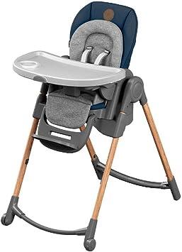 Confort 30kgEssential la ansjusqu'à EvolutiveRéglable Bébé Chaise 6 Minla positionsde naissance 6 Blue Haute à IvYbgmf76y