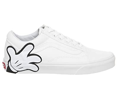 Vans Disney Old Skool Mickey True White Sneakers