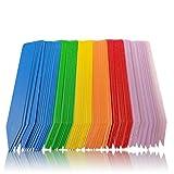 Greenthumbpro 100pcs 5 Colored 3/4x Inch Plant