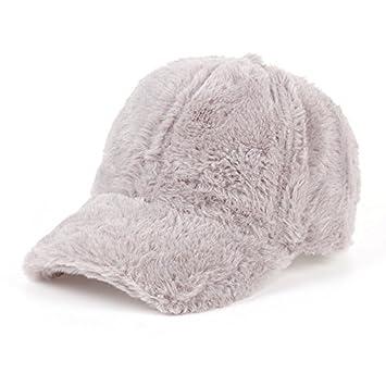 ee470c05f65 Llxln Baseball Cap Women Casual Streetwear Gray Pink Hat Elegant   Amazon.co.uk  Sports   Outdoors