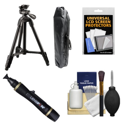 """Sony VCT-R100 40"""" Photo/Video Tripod with 3-Way Pan & Tilt H"""
