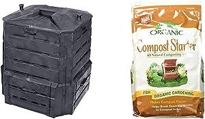 Algreen Products Soil Saver Classic Compost bin & Espoma Organic Traditions Compost Starter- 4 lb Bag BE4
