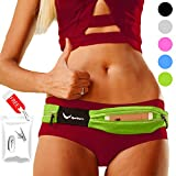 [Voted #1 Running Belt] The Runtasty Runners Fanny Pack for iPhone 6, 7, X, 8, 8 Plus & Android Samsung. No Bounce, Waterproof, Dual Pocket, Fitness & Travel Belt! Sleekest, Most Durable in the World!