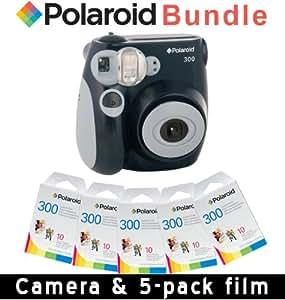 Polaroid PIC-300 Instant Camera Accessory Kit, Black