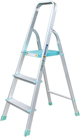 Taburete Escalera Escalera Plegable Plegable Taburete con apoyabrazos Altura de Trabajo de 66 cm Escalera Pesada 150kg Capacidad MAX: Amazon.es: Hogar