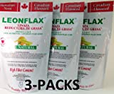 Leonflax Canadian Flaxseed Plus Fat Reducer 18 Oz. 3-PACK