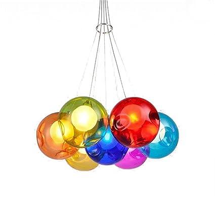 KAIRRY Iluminación de Techo Farbige Bubble Ball lámpara ...