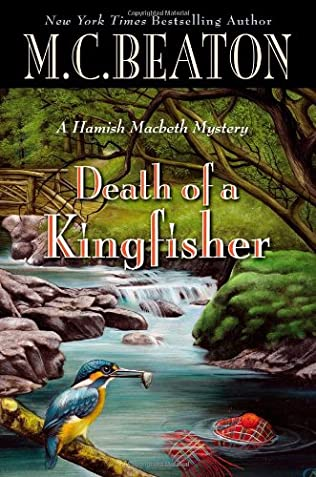 book cover of Death of a Kingfisher