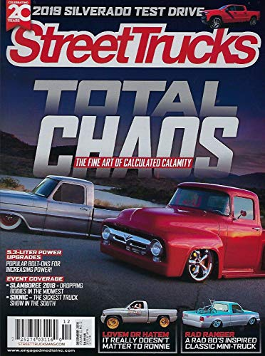 Street Truck Magazine December 2018 Total Chaos for sale  Delivered anywhere in USA