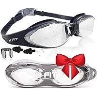 U-FIT Swimming Goggles - Swim Goggles For Men, Women,...