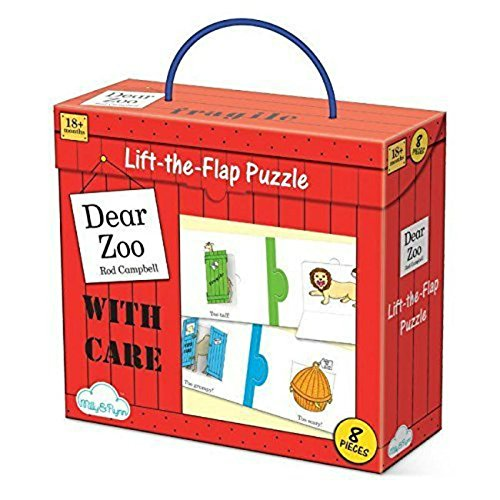 Milly & Flynn  Dear Zoo Lift the Flap Puzzle