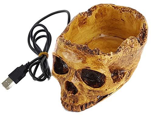 (Princess International USB-5100 Skull USB Hub)