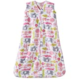 Halo SleepSack Microfleece Wearable Blanket, Pink Jungle, Size Large