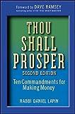 Thou Shall Prosper: Ten Commandments for Making Money by Rabbi Daniel Lapin (2009-10-29)