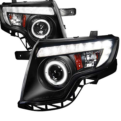 Velocity Concepts for Edge 4Dr Black Projector Head Lights