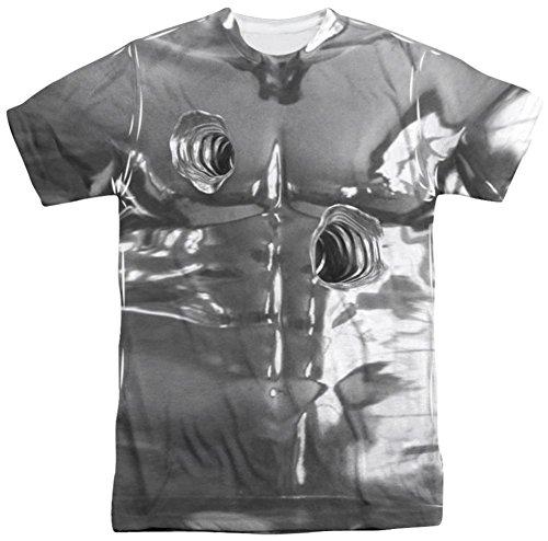 [Terminator 2 - T1000 Costume T-Shirt Size M] (Terminator T1000 Costume)