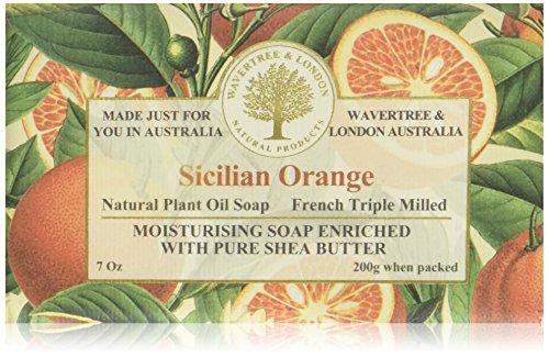 Wavertree & London Sicilian Orange luxury soap (1 bar)