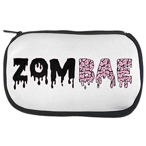 Zombie Make Up For Women (Halloween Zombie Zombae Brains Zip Makeup Bag Multi Standard One Size)