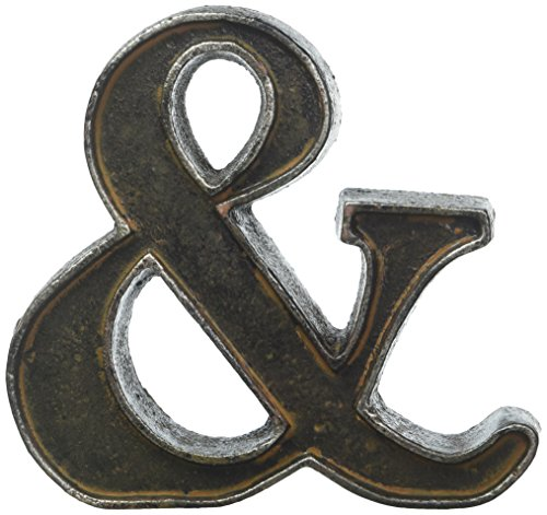 Foreside Home & Garden Foreside Rustic Ampersand