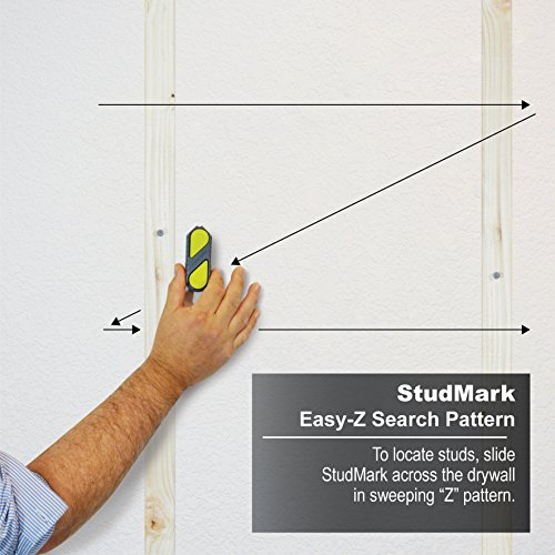 Calculated Industries 7310 StudMark Magnetic Stud Finder with 2 Removable Magnet Markers | Finds & Marks up to 3 Stud Locations | Powerful Rare Earth Magnets, No Batteries Needed by Calculated Industries (Image #12)