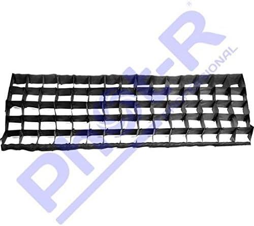 Phot-R Grille rectangulaire en Tissu pour Photographie Professionnelle Noir 80 x 80 cm