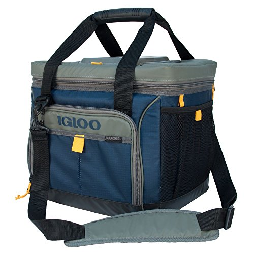 Igloo Outdoorsman Square 30-Slate Blue/Tan, Blue