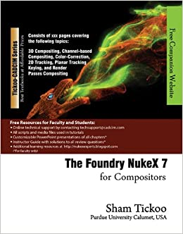 Amazon in: Buy The Foundry Nuke X 7 for Compositors Book