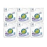 all Liquid Laundry Detergent, Fresh & Sensitive, 141 Ounces, 94 Loads (6 Pack)