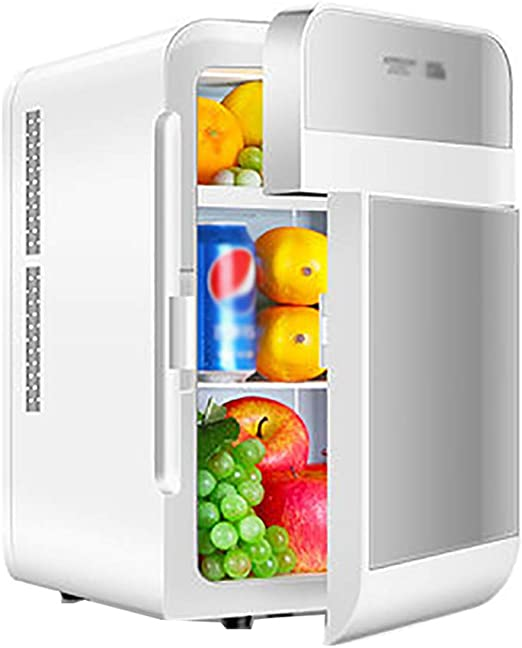 Refrigerador portátil para coche de doble puerta 20L Doble piso de ...