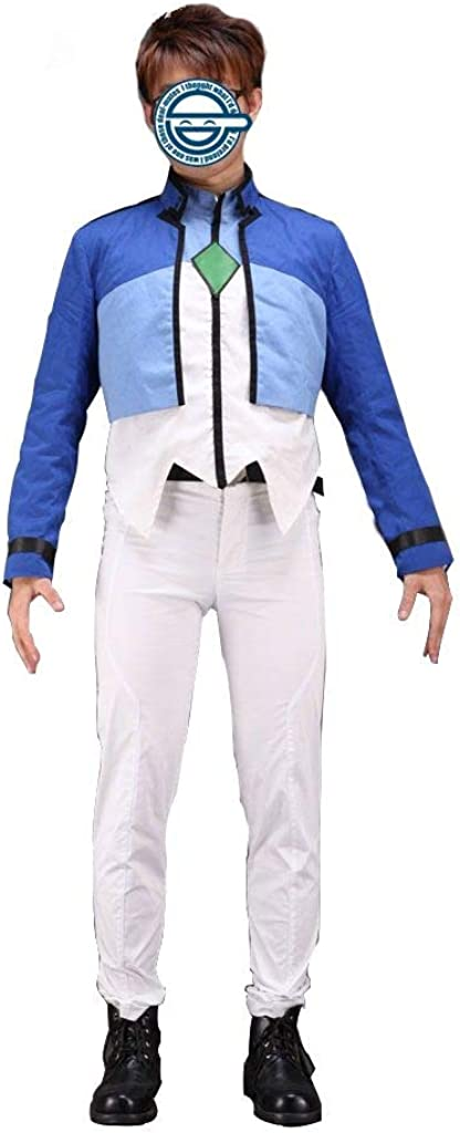 Details about  /Mobile Suit Gundam 00 Second Season Aleluia cosplay costume!Free shipping