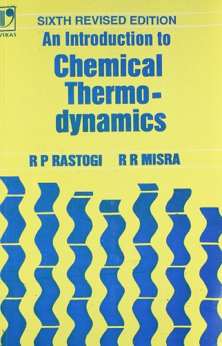 An Introduction to Chemical Thermodynamics