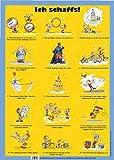 Ich schaff's-15-Schritte-Poster