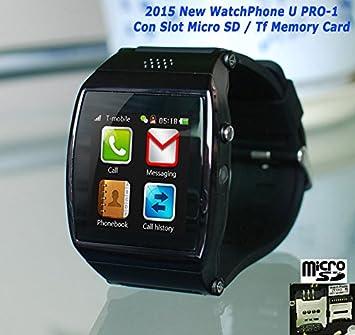CursOnline col465 – 15 U Watch PRO-1 inteligentes Bluetooth universal funciona con Android y