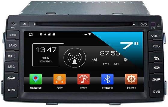 Kia Sorento Auto Radio Pantalla Táctil Android naviceiver CD DVD USB SD Wifi GPS Navegación 3d TV Bluetooth manos libres: Amazon.es: Electrónica