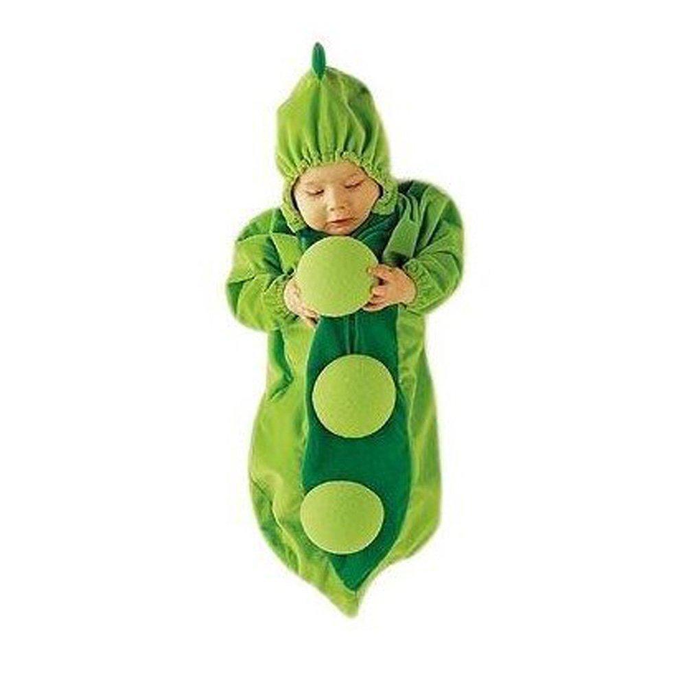 LKOUS manteau Peignoir de bain à capuche pour bébé sac de couchage (75CM)