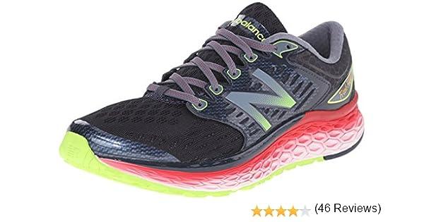 New Balance W1080V6, Zapatillas de Entrenamiento, Hombre, Negro (Black/Red/Silver), 44 EU: Amazon.es: Zapatos y complementos
