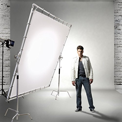 Glow 8x8' Portable Butterfly Light Modifier Collapsible ()