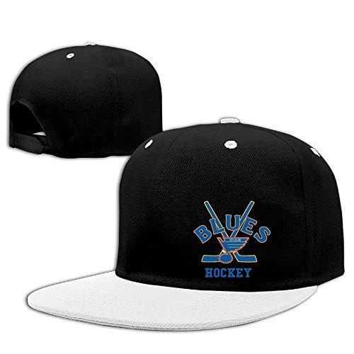 custom-unisex-st-louis-ice-hockey-flat-billed-hip-hop-visor-cap-white
