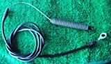 ACCESSORIES PARTS LAWNMOWERS CRAFTSMAN OEM RIDING MOWER CLUTCH CABLE 408714 435111 & FITS POULAN HUSQVARNA