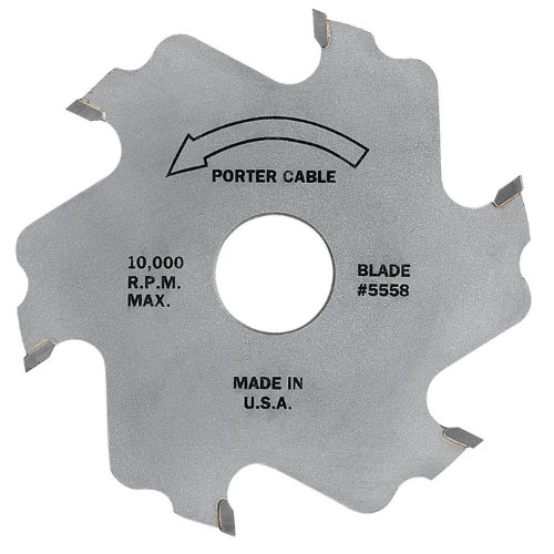PORTER-CABLE 5558 4-Inch, 6 Tooth Plate Joiner Blade (Porter Cable 557)