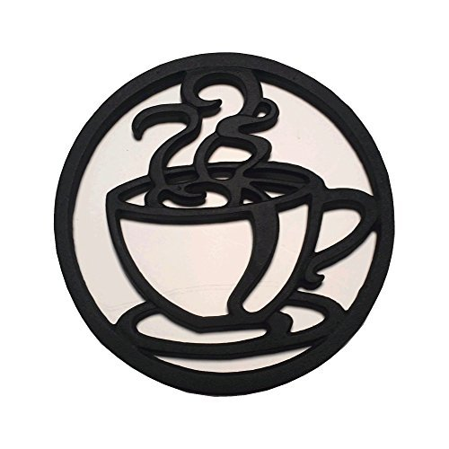 Cast Iron Coffee Cup Trivet - Pot Colonial Coffee